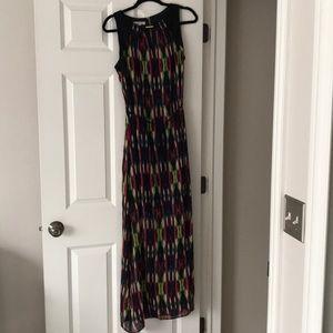 Long Multi Color Maxi Dress